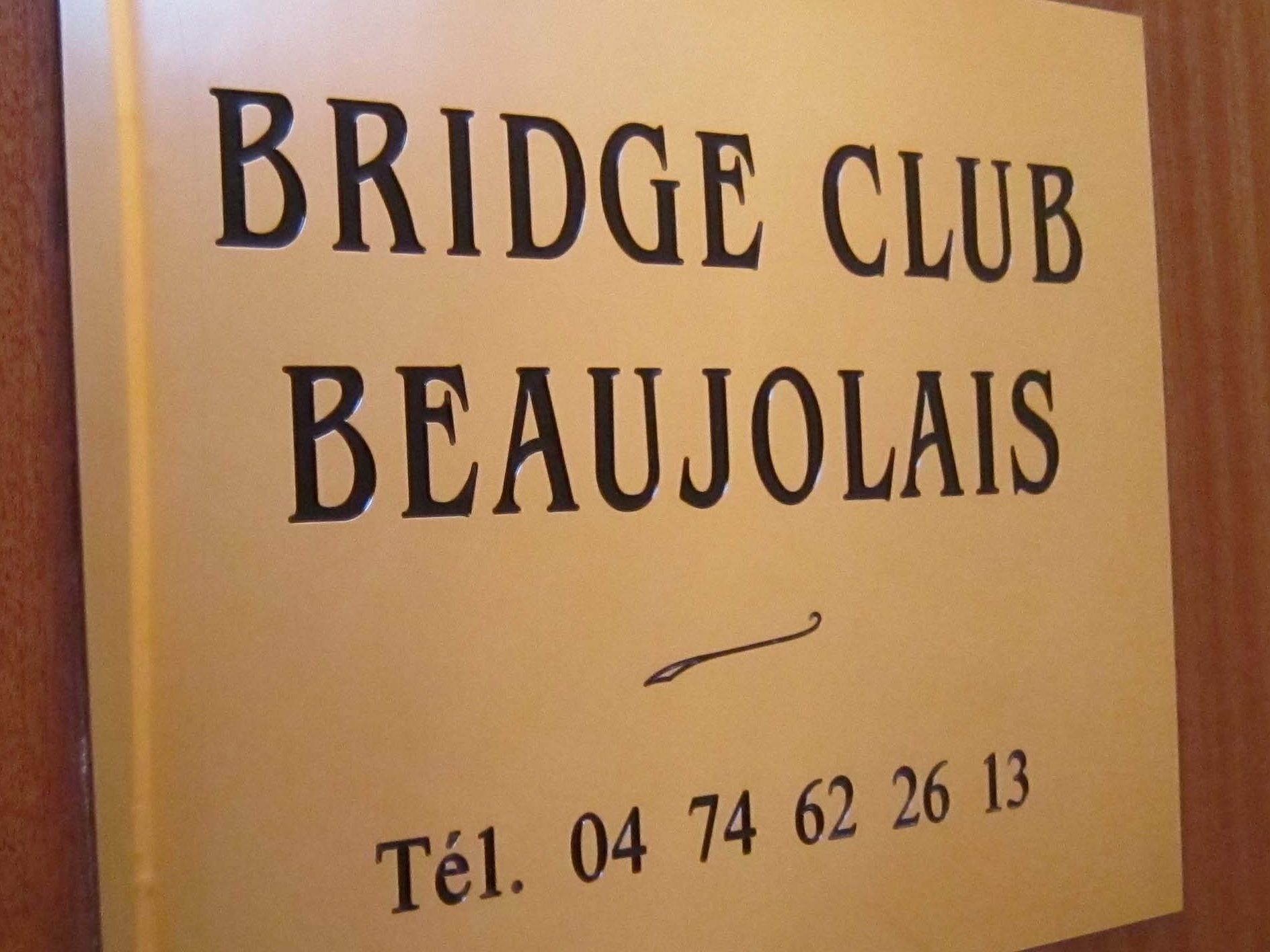 Bridge Club Beaujolais
